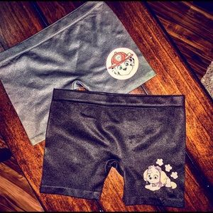 💥NEW without tags💥 paw patrol gymnastic shorts🐾